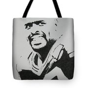 Reggie Tote Bag by Lynet McDonald