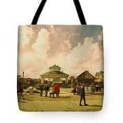 Rehoboth Beach In Fall Tote Bag