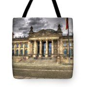 Reichstag Building  Tote Bag by Jon Berghoff