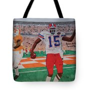 Florida - Tennessee Football Tote Bag