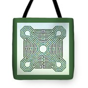 Reims - The Green Path Tote Bag