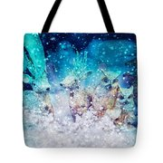 Reindeer And Owls Holiday Celebration Tote Bag