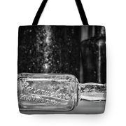 Reisenwebers A 1920s Nyc Speakeasy In Black And White Tote Bag