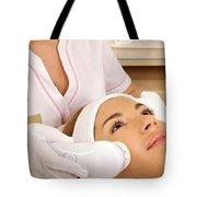 Rejuvenate Skin Through Dermatology Co2 Laser Tote Bag