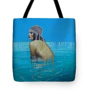 Rela In The Sea Tote Bag
