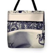 Relax In Blue Tote Bag