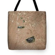 Relaxation - Tile Tote Bag