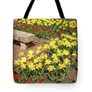 Relaxation In The Garden Tote Bag
