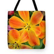 Relaxed Tulips Tote Bag
