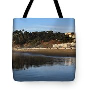 Relaxing At Ocean Beach San Francisco Tote Bag