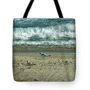 Relaxing By The Ocean Tote Bag