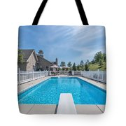 Relaxing By The Pool2 Tote Bag