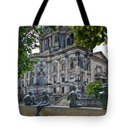 Relaxing By The River Tote Bag