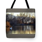 Relaxing Evening Tote Bag