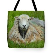 Relaxing In The Pasture Tote Bag