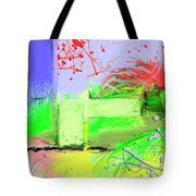 Relaxing Intermission Tote Bag