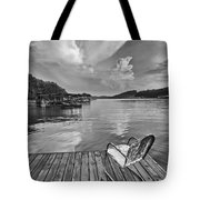 Relaxing On The Dock Tote Bag