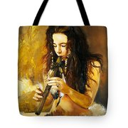Release Tote Bag by J W Baker