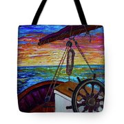 Release The Sails Tote Bag by Jacqueline Athmann
