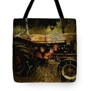 Relic In The Field Tote Bag