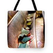 Religion Abandonded Tote Bag
