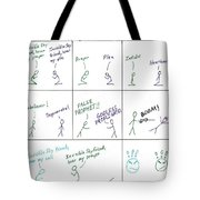 Religious Discourse Tote Bag