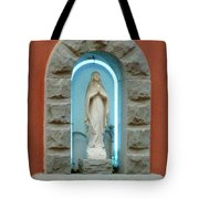 Religious Icon Mary Tote Bag