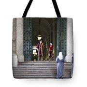 Religious Visit Tote Bag