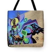 Reloaded Or Education Is A Powerful Weapon Mural -- 2 Tote Bag