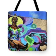 Reloaded Or Education Is A Powerful Weapon Mural Tote Bag
