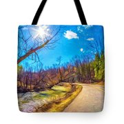 Reluctant Ontario Spring 3 - Paint Tote Bag