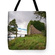 Remains Of Castle Lachlan Tote Bag