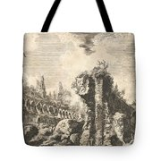 Remains Of The Temple Of Castor And Pollux Tote Bag