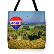 Remax Hot Air Balloon Ride Tote Bag