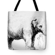 Rembrandt: Elephant, 1637 Tote Bag