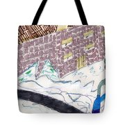 Remember When We Walked To School Tote Bag