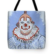 Remembering Clarabelle The Clown Tote Bag