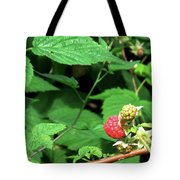 Remembering One Sweet Rasberry Tote Bag