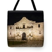 Remembering The Alamo Tote Bag