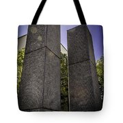 Remembering The Twins Tote Bag