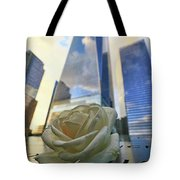 Remembering With A Rose Tote Bag