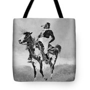 Remington: Comanche, C1890 Tote Bag