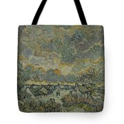 Reminiscence Of Brabant Saint Remy De Provence March - April 1890 Vincent Van Gogh 1853  1890 Tote Bag