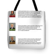 Remix - About Page Tote Bag