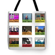 Remix - Artists Page  Tote Bag