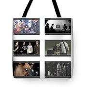 Remix - Videos  Page Tote Bag