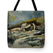 Remote Houses In The Ardennes  Tote Bag