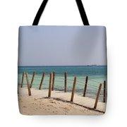 Remote Island  Tote Bag