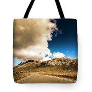 Remote Rural Roads Tote Bag
