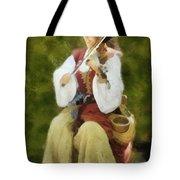 Renaissance Fiddler Lady Tote Bag
